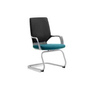 Xenon Visitor Black Shell Bespoke Colour Seat Maringa Teal