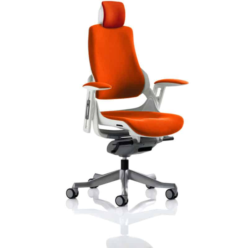Zure With Headrest Fully Bespoke Colour Tabasco Red