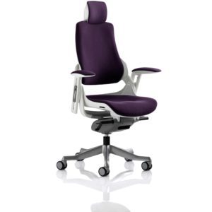 Zure With Headrest Fully Bespoke Colour Tansy Purple