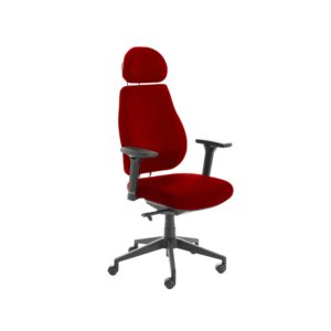 Chiro Plus Lite With Headrest Fully Upholstered Bergamot Cherry