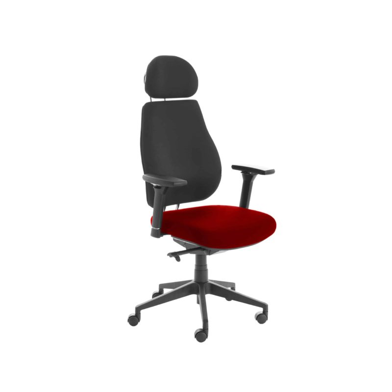 Chiro Plus Lite With Headrest Upholstered Seat Only Bergamot Cherry
