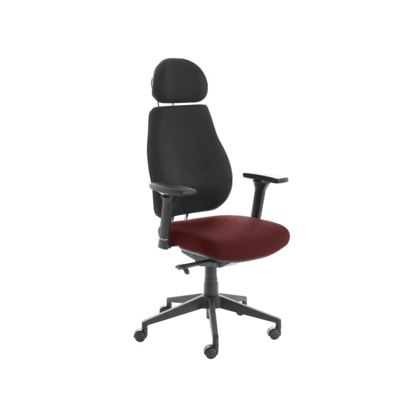 Chiro Plus Lite With Headrest Upholstered Seat Only Ginseng Chilli