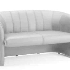 Neo Twin Tub White Leather