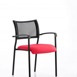 Brunswick Bespoke Colour Seat Black Frame Bergamot Cherry