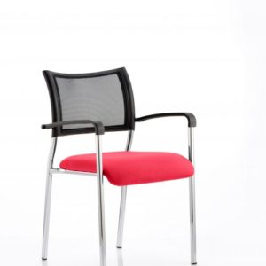 Brunswick Bespoke Colour Seat Chrome Frame Bergamot Cherry