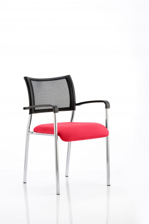 Brunswick Bespoke Colour Seat Chrome Frame Bergamot Cherry