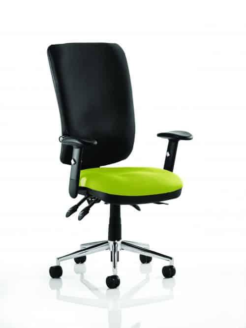 Chiro High Back Bespoke Colour Seat Myrhh Green