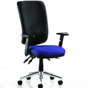 Chiro High Back Bespoke Colour Seat Stevia Blue