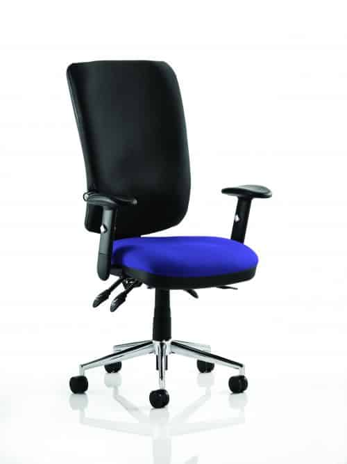 Chiro High Back Bespoke Colour Seat Stevia Blue
