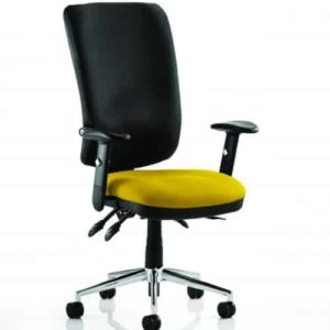 Chiro High Back Bespoke Colour Seat Senna Yellow