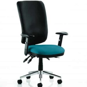 Chiro High Back Bespoke Colour Seat Maringa Teal