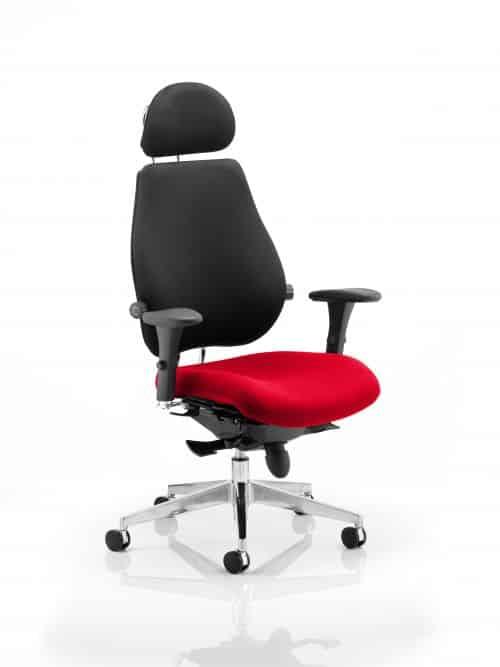 Chiro Plus Ultimate With Headrest Bespoke Colour Seat Bergamot Cherry