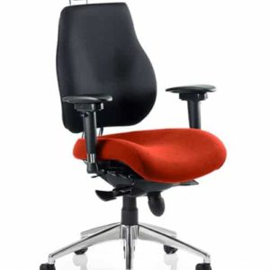 Chiro Plus Ultimate With Headrest Bespoke Colour Seat Tabasco Red