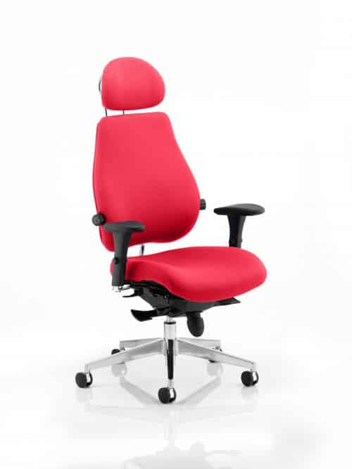 Chiro Plus Ultimate With Headrest Bespoke Colour Bergamot Cherry