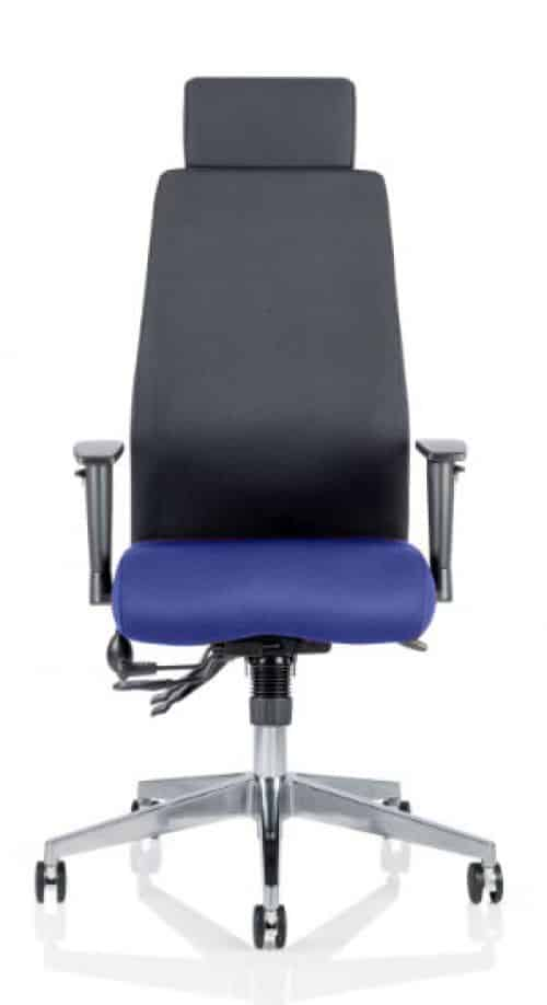 Onyx Bespoke Colour Seat With Headrest Stevia Blue