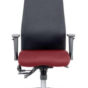 Onyx Bespoke Colour Seat With Headrest Gingseng Chilli
