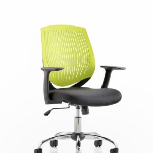 Dura Task Operator Chair Green With Arms