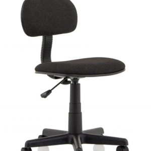 Clerk Black Fabric Typist Chair