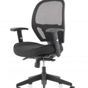 Denver Black Mesh Chair No Headrest